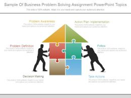 sample_of_business_problem_solving_assignment_powerpoint_topics_Slide01