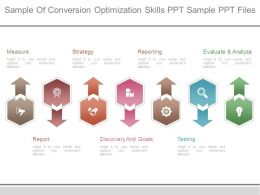 Sample Of Conversion Optimization Skills Ppt Sample Ppt Files