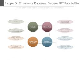 Sample Of Ecommerce Placement Diagram Ppt Sample File