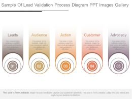 Sample Of Lead Validation Process Diagram Ppt Images Gallery