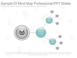 Sample Of Mind Map Professional Ppt Slides