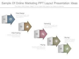 Sample Of Online Marketing Ppt Layout Presentation Ideas