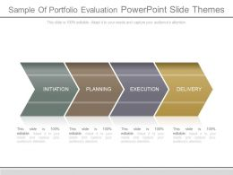 Sample Of Portfolio Evaluation Powerpoint Slide Themes
