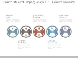 Sample Of Secret Shopping Analysis Ppt Samples Download