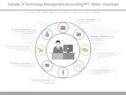 Sample Of Technology Management Accounting Ppt Slides Download