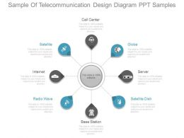 Sample Of Telecommunication Design Diagram Ppt Samples