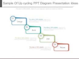 sample_of_up_cycling_ppt_diagram_presentation_ideas_Slide01