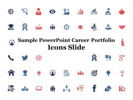 Sample Powerpoint Career Portfolio Icons Slide A342 Ppt Powerpoint Presentation