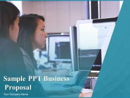 Sample Ppt Business Proposal Powerpoint Presentation Slides