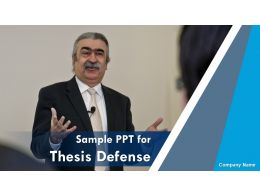 Sample Ppt For Thesis Defense Powerpoint Presentation Slides