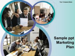 Sample Ppt Marketing Plan Powerpoint Presentation Slides