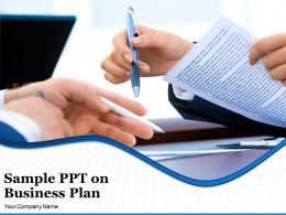 Sample Ppt On Business Plan Powerpoint Presentation Slides