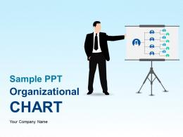 Sample Ppt Organizational Chart PowerPoint Presentation Slides