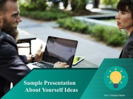 Sample Presentation About Yourself Ideas Powerpoint Presentation Slides