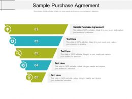Sample Purchase Agreement Ppt Powerpoint Presentation Layouts Topics Cpb
