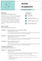 Sample Resume For User Experience Designer