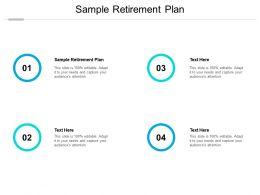 Sample Retirement Plan Ppt Powerpoint Presentation Icon Background Images Cpb