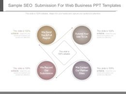 Sample Seo Submission For Web Business Ppt Templates