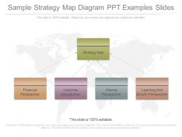 Sample Strategy Map Diagram Ppt Examples Slides
