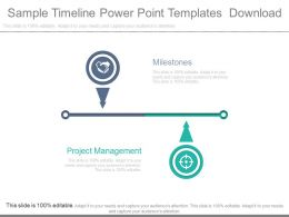 Sample Timeline Powerpoint Templates Download