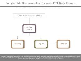 Sample Uml Communication Template Ppt Slide Themes