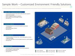 Sample Work Customized Environment Friendly Solutions M1544 Ppt Powerpoint Presentation Shapes
