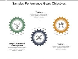 Samples Performance Goals Objectives Ppt Powerpoint Presentation Diagrams Cpb