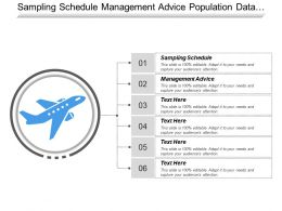 Sampling Schedule Management Advice Population Data Actual Infusion