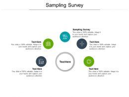 Sampling Survey Ppt Powerpoint Presentation Sample Cpb