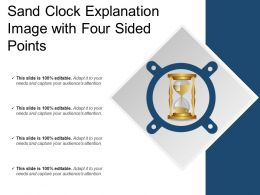 Sand Clock Explanation Image With Four Sided Points