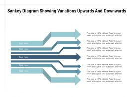Sankey Diagram Showing Variations Upwards And Downwards