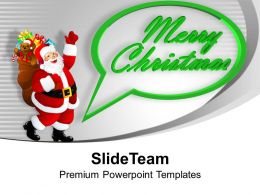Santa Clause Merry Christmas PowerPoint Templates PPT Themes And Graphics 0113