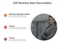 SAP Business Bank Reconciliation Ppt Powerpoint Presentation Infographic Template Graphic Cpb