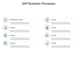 SAP Business Processes Ppt Powerpoint Presentation Portfolio Slideshow Cpb