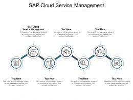 Sap Cloud Service Management Ppt Powerpoint Presentation Layouts Templates Cpb