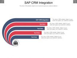 Sap CRM Integration Ppt Powerpoint Presentation Background Designs Cpb