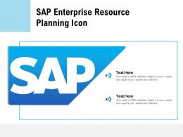 SAP Enterprise Resource Planning Icon