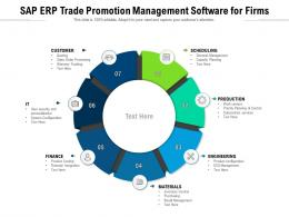 SAP ERP Trade Promotion Management Software For Firms