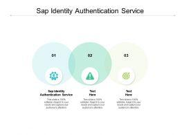 Sap Identity Authentication Service Ppt Powerpoint Presentation Show Grid Cpb