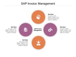 SAP Invoice Management Ppt Powerpoint Presentation Infographics Visual Aids Cpb