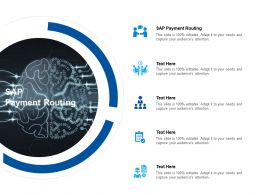 SAP Payment Routing Ppt Powerpoint Presentation Inspiration Styles Cpb