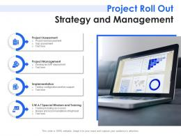 Sap Project Roll Out Strategy And Management