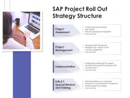 Sap Project Roll Out Strategy Structure