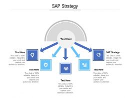 Sap Strategy Ppt Powerpoint Presentation Show Model Cpb