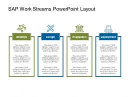 Sap Work Streams Powerpoint Layout