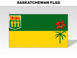 Saskatchewan Country Powerpoint Flags