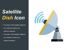 Satellite Dish Icon Powerpoint Graphics