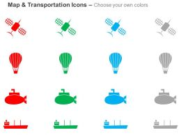 satellite_hot_air_balloon_submarine_cargo_ship_ppt_icons_graphics_Slide02