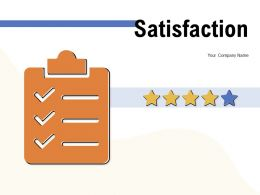 Satisfaction Star Face Customer Rating Service Excellent Meter