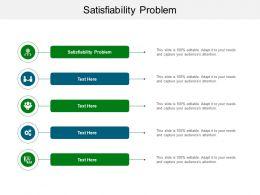 Satisfiability Problem Ppt Powerpoint Presentation Summary Cpb